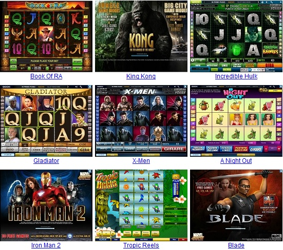 Gioco di slot machine gratis