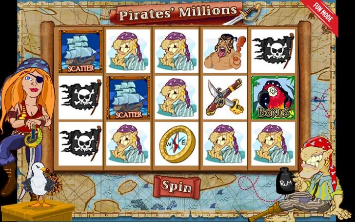 Pirates Millions Slot Machine
