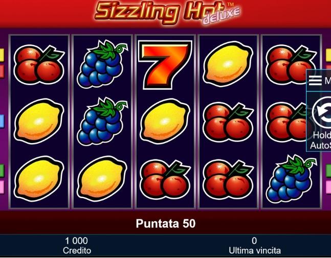 Sizzling Hot Gioca Gratis